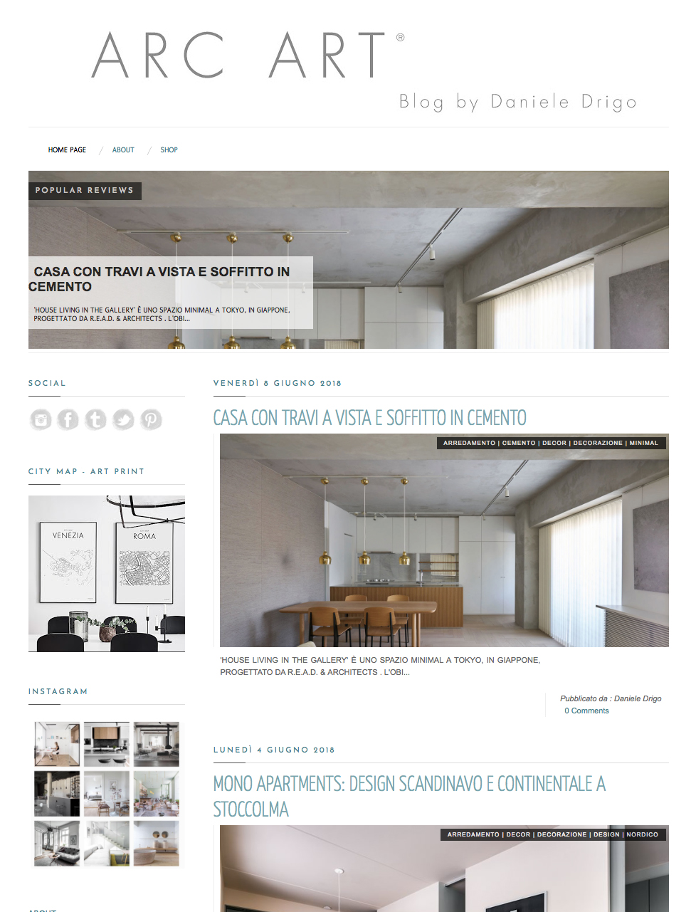 [House Living In The Gallery] Has Been Posted On Italian Blog Magazine  U201cDDArcArtu201d Introducing Architecture, Interior, Furniture, Lifestyle, Art,  ...